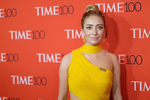 Whitney Wolfe Herd is the youngest female chief executive to take a company public in the US (Getty Images)