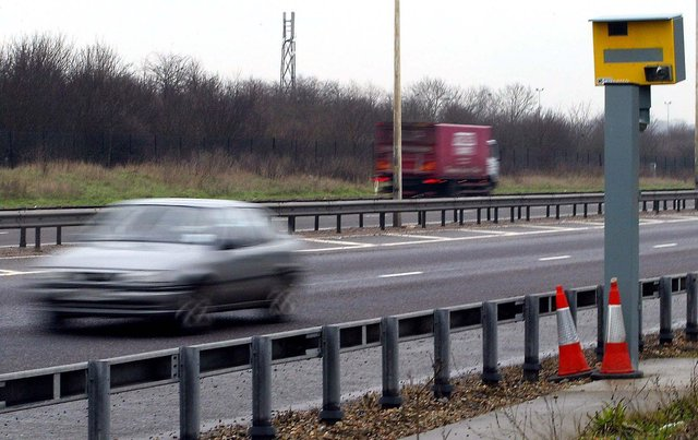 Drivers caught speeding up to around 10 per cent above the limit in England and Wales are offered speed awareness courses. Picture: Andrew Parsons/PA