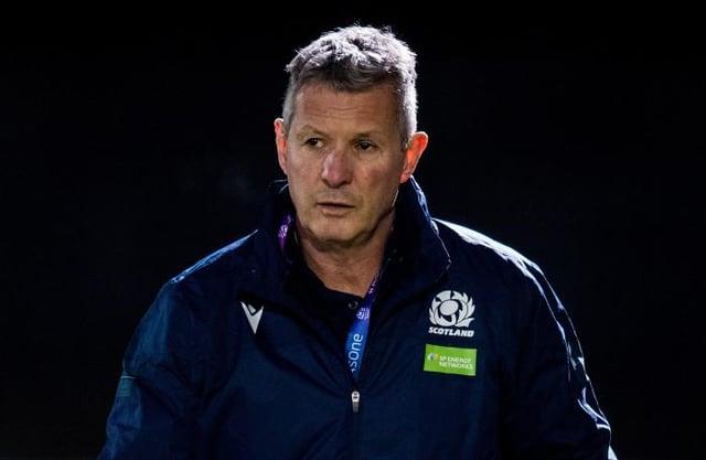 Scotland U20 head coach Sean Lineen.
