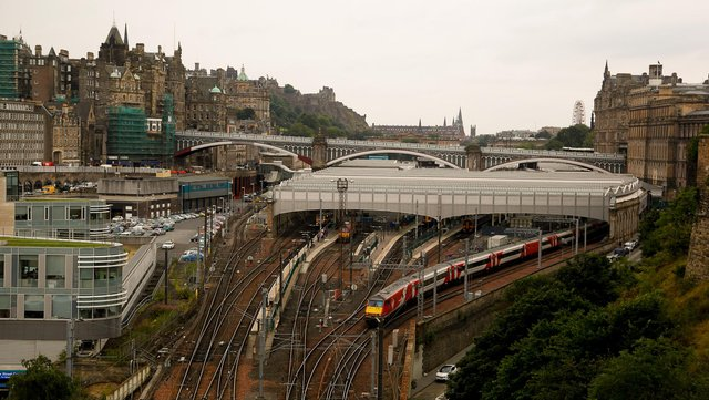 Waverley Station is the second busiest in Scotland but it's due to be joined by a namesake in Yorkshire. (Picture: Scott Louden)