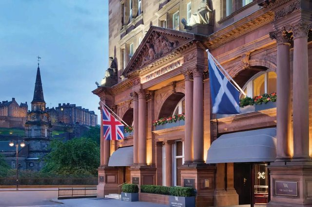 The famous 214-room hotel at the west end of Princes Street is operated under the Waldorf Astoria Brand and has been owned by Abu Dhabi-based Twenty14 Holdings since 2018.