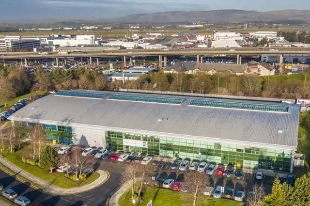 The firm announced the acquisition of a modern multi-let warehouse estate on Glasgow Airport Business Park.