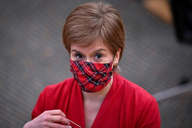 Nicola Sturgeon will reveal new dates for easing parts of Scotland's lockdown in a statement to MSPs tomorrow. (Photo by Jeff J Mitchell/Getty Images)
