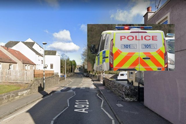 Police were called to a property on Douglas Road.