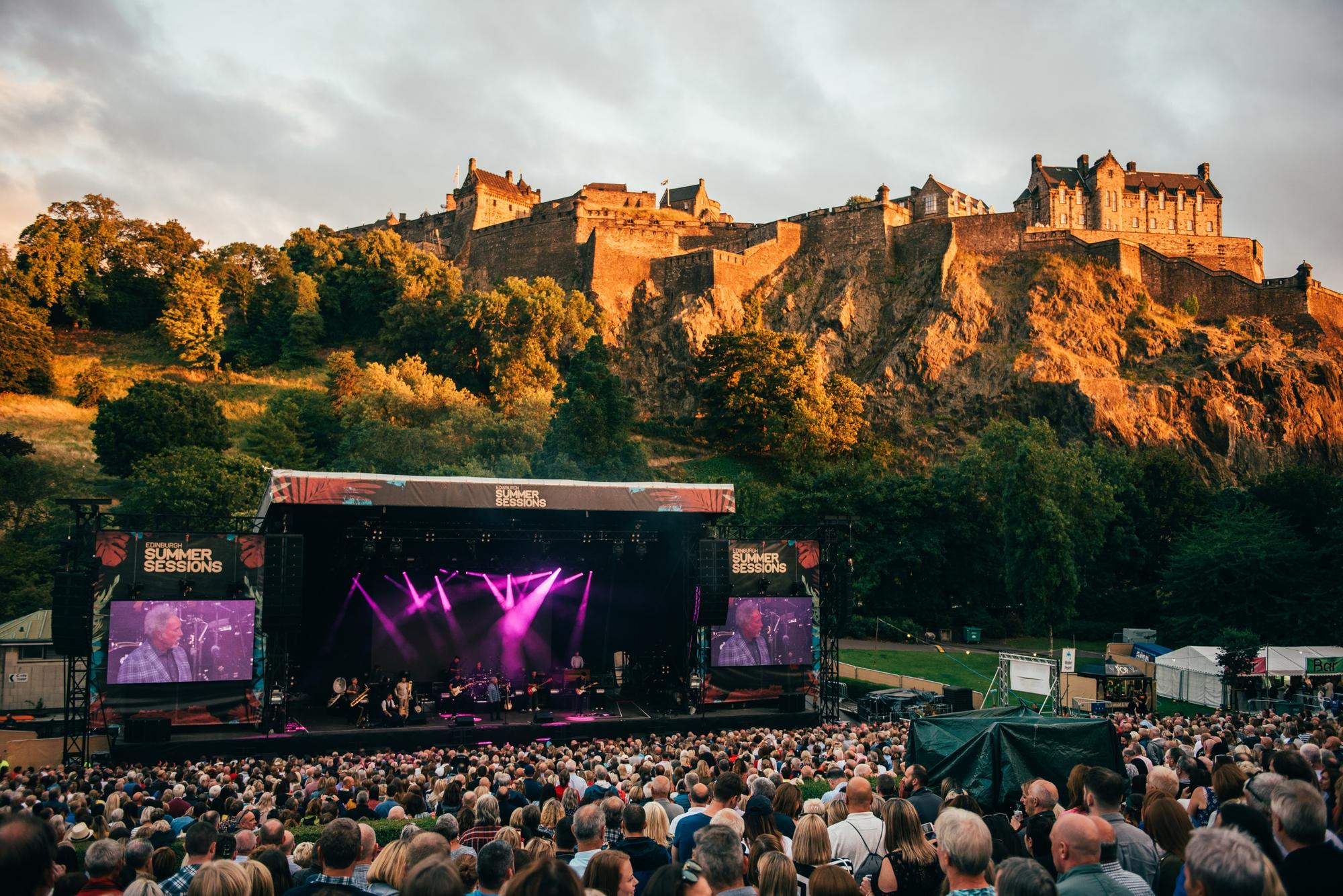 Plug To Be Pulled On Edinburgh Summer Sessions Concerts For 12 Months The Scotsman