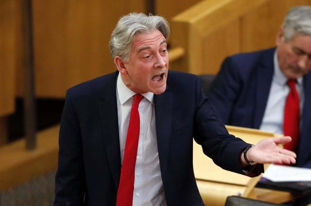 Scottish Labour leader Richard Leonard is calling for decisive action