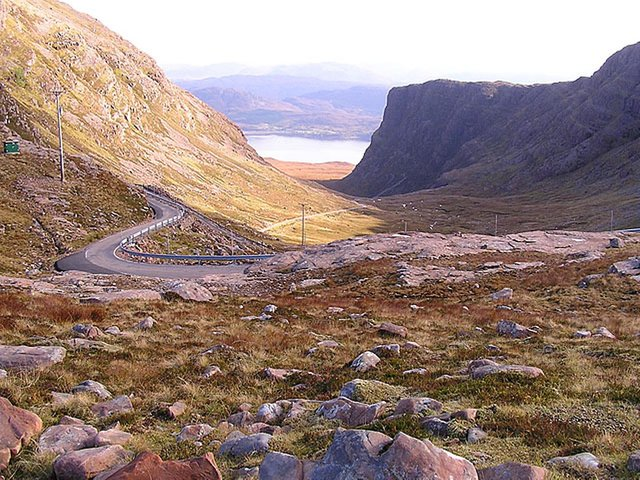 The Bealach na Ba road leading over to Applecross, Wester Ross, has made it a prime destination on the North Coast 500 driving route but an influx of tourists has created challenges for the small community.  PIC: geograph.org/Stuart Wilding