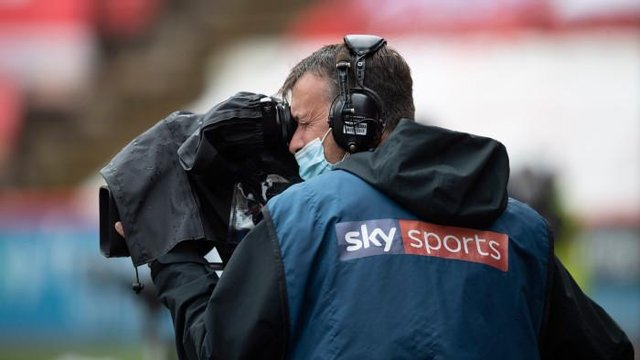 Sky Sports have live broadcast rights to Scottish Premiership games this season. (Photo by Craig Williamson / SNS Group)