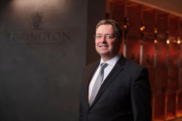 Edrington chief executive Scott McCroskie: 'The fundamentals of our business are strong, and our brands are in good health.' Picture: Jo Hanley Photography