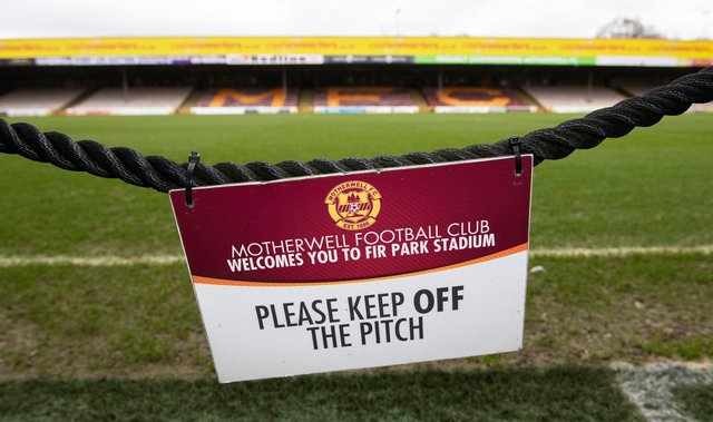 Scottish players have ruled out playing behind closed doors. Picture: SNS