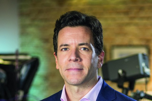 STV Group chief executive Simon Pitts: 'STV has made an excellent start to 2021, with our record TV and digital audiences powering advertising revenue growth of 32 per cent in the first half of the year.' Picture: Laurence Winram Studio