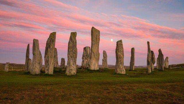 The Callanish Standing Stones on the Isle of Lewis are one of the most iconic attractions in the Outer Hebrides. Picture: VisitScotland/Kenny Lam