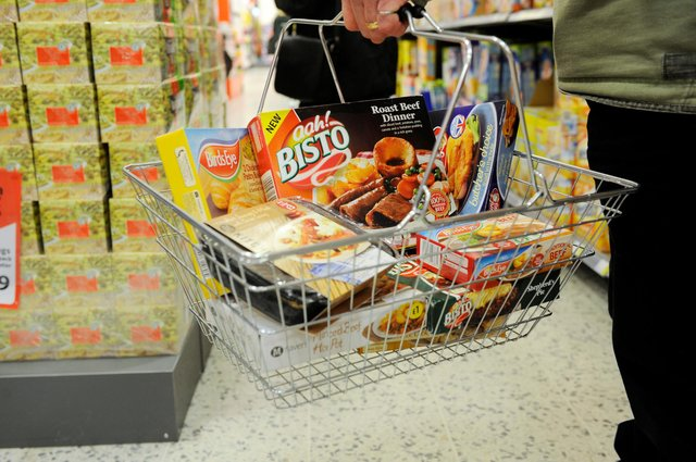 Inflation is measured on a changing basket of various household goods, fuel costs and other services. Picture: Greg Macvean