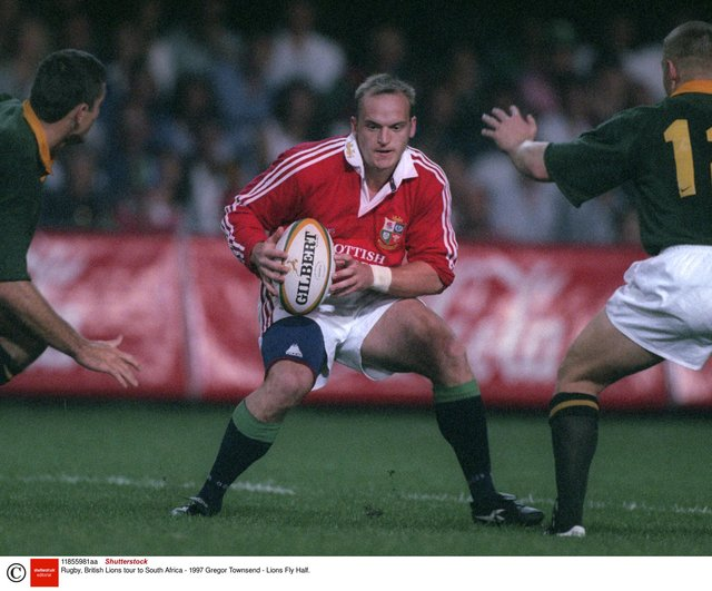 Gregor Townsend was stand-off as the Lions defeated the Springboks in the 1997 Test series. He will return to South Africa as Lions defence coach. Picture: Shutterstock