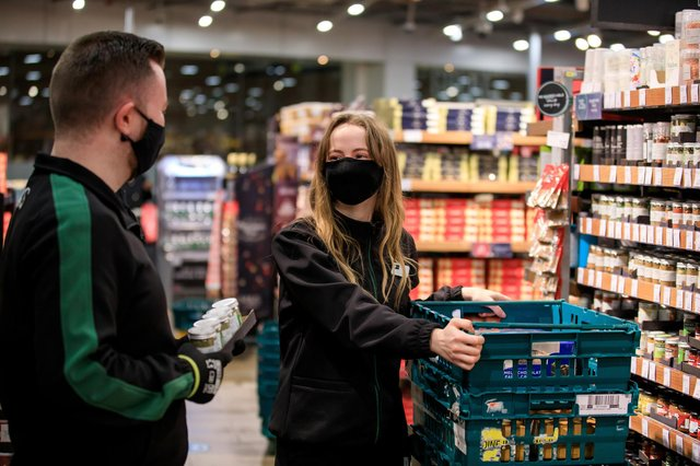 M&S has created 36 work placements across Scotland. Picture: Oliver Dixon/Imagewise.