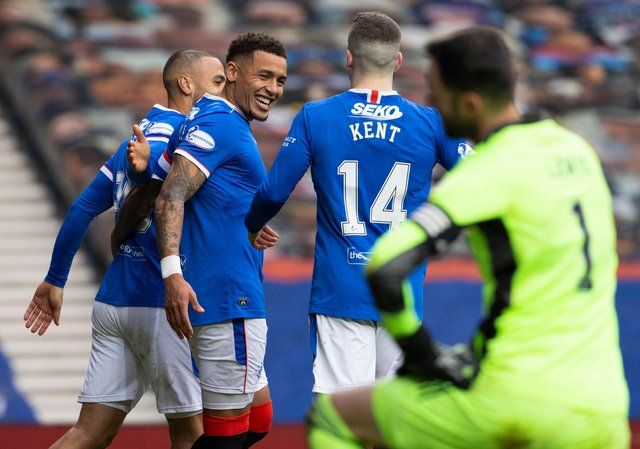 James Tavernier has tipped Ryan Kent to become a star in the Premier League. Picture: SNS