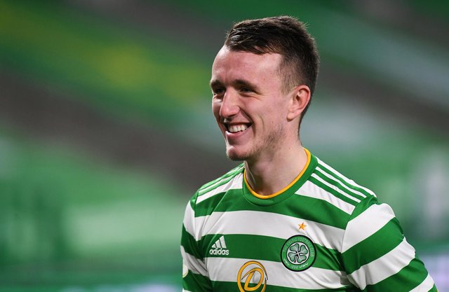 Celtic's David Turnbull could be a star at Euro 2020. (Photo by Ross MacDonald / SNS Group)