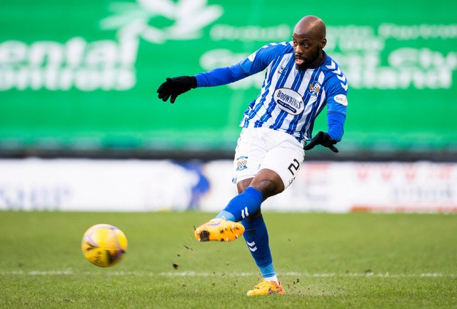Youssouf Mulumbu has had three stints at Kilmarnock and also had an unproductive spell with Celtic. Picture: SNS