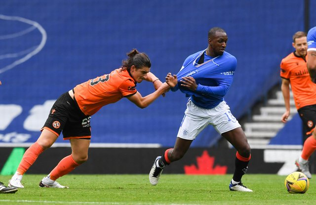 Rangers easily defeated Dundee United when the two sides met at Ibrox earlier in the season. Picture: SNS