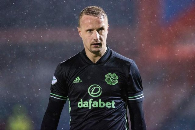 Celtic forward Leigh Griffiths could be on his way out of Parkhead despite signing a new deal. (Photo by Alan Harvey / SNS Group)