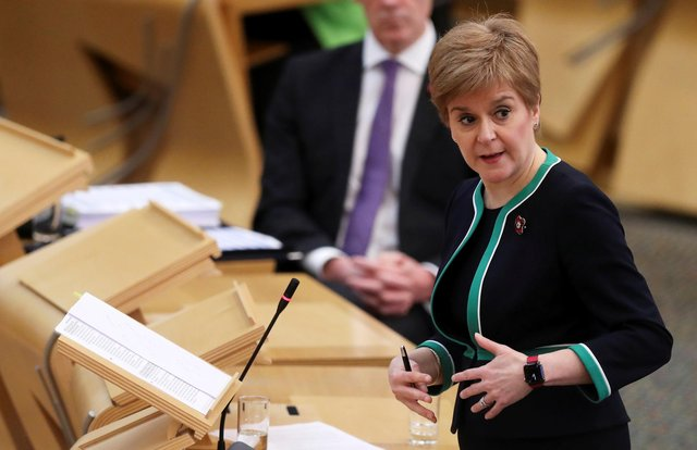 Nicola Sturgeon has welcomed the vaccine news