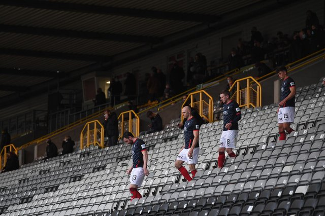 Falkirk have missed out on the play-offs in League One. Picture: SNS