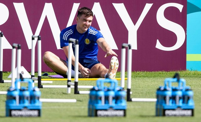 Kieran Tierney is out of the Czech Republic game. (Photo by Craig Williamson / SNS Group)