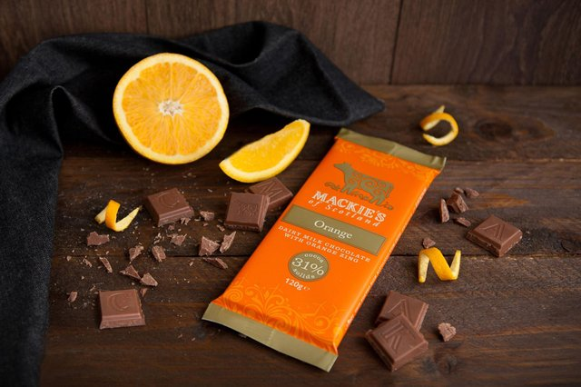 Sainsbury's and Asda stores in Scotland are to stock the new orange flavour chocolate bars, said to be the result of two years of 'taste testing in the making'.