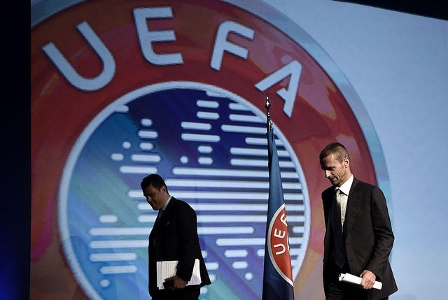 Uefa have announced temporary plans for the transfer window. Picture: Getty