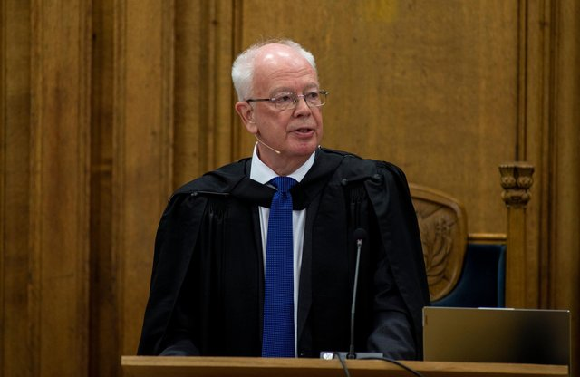 Lord Wallace of Tankerness is only the second elder in modern times to become Moderator