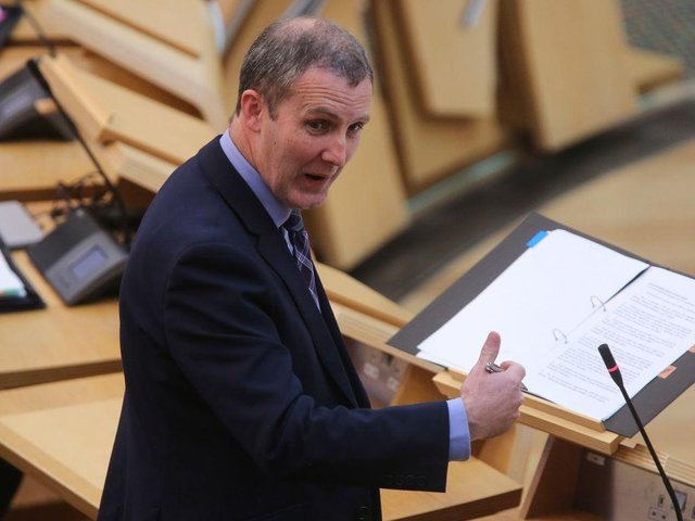 Michael Matheson MSP promised help for families affected by autism