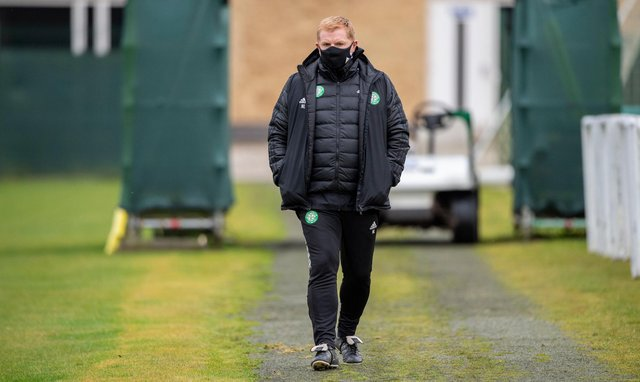 Celtic boss Neil Lennon will have a few things to consider ahead of the AC Milan match tonight. Picture: SNS