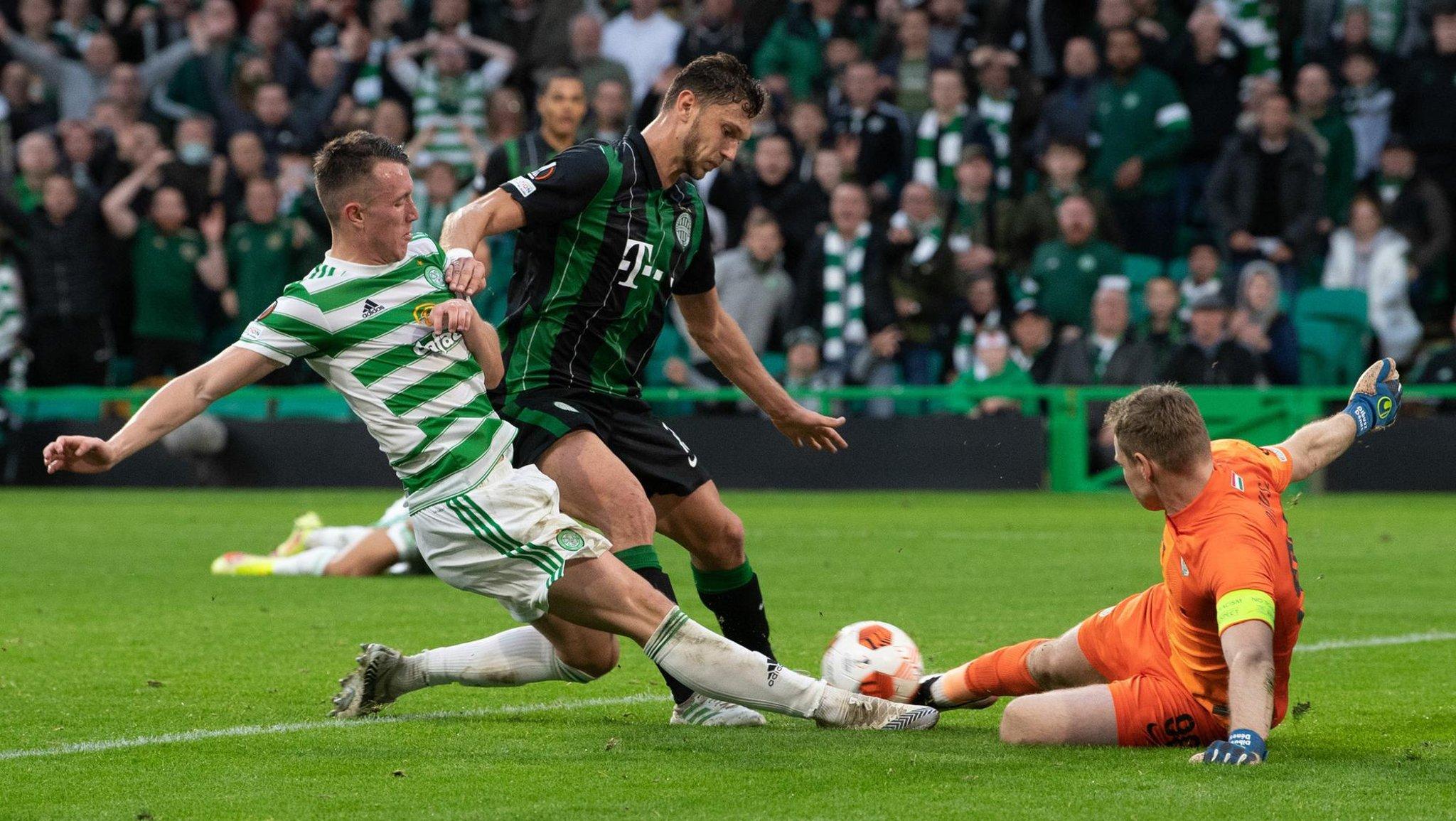 Pukulan untuk David Turnbull saat UEFA mengambil gol tandang dari bintang Celtic