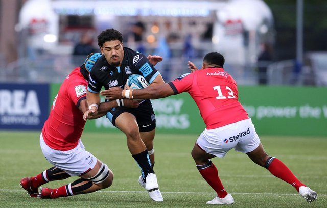 Sione Tuiploluto impressed on his Glasgow Warriors debut. Picture: Alan Harvey/SNS