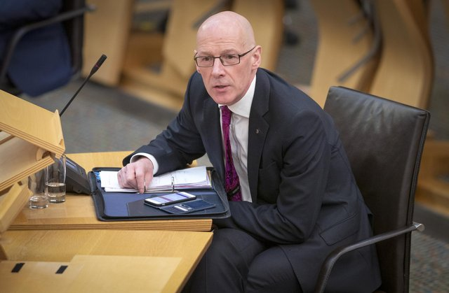 Deputy First Minister John Swinney has been criticised for his handling of the 2020 exams fiasco.