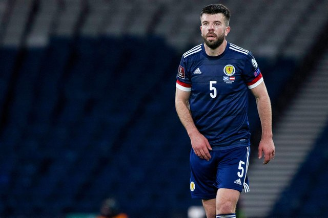 Grant Hanley is the longest-serving outfield player in Scotland's Euro 2020 squad (Photo by Craig Williamson / SNS Group)