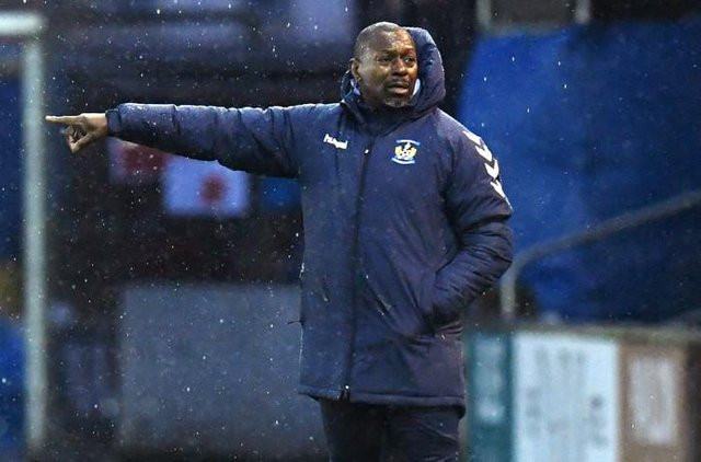 Kilmarnock manager Alex Dyer has left by mutual consent (Photo by Ross MacDonald / SNS Group)