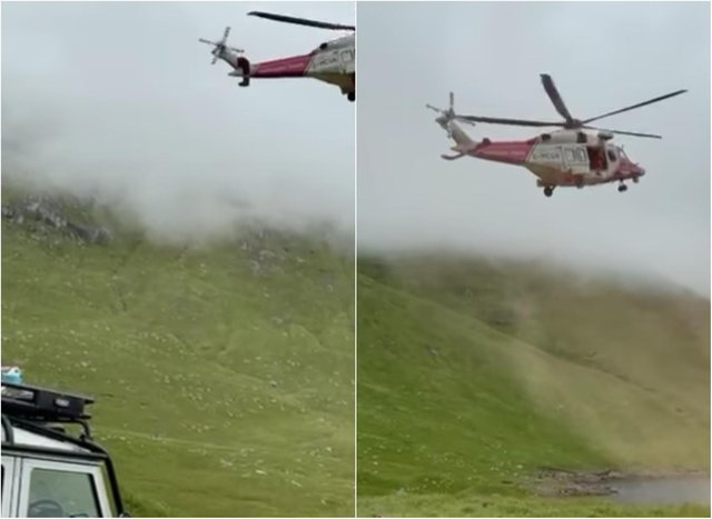 Ben Cruachan: WATCH Mountain Rescue assist walker seriously injured near the summit of Argyll and Bute munro