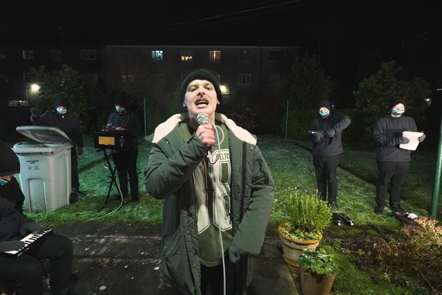 Gaelic rapper Hammy Sgith is up for awards for best film, performance and new director.