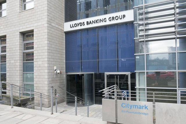 Lloyds Banking Group owns Bank of Scotland and Scottish Widows. Picture: Ian Rutherford