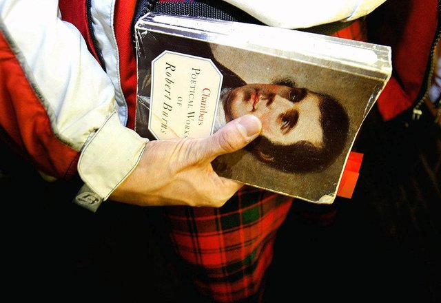 Scots celebrate the life of Robert Burns on January 25 (Getty Images)