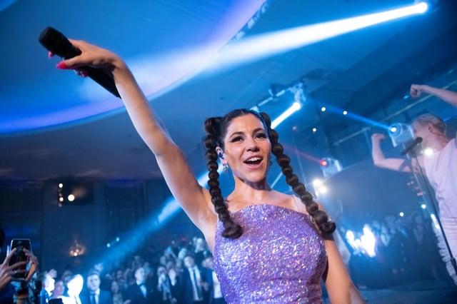 Marina will be playing Edinburgh's Corn Exchange.