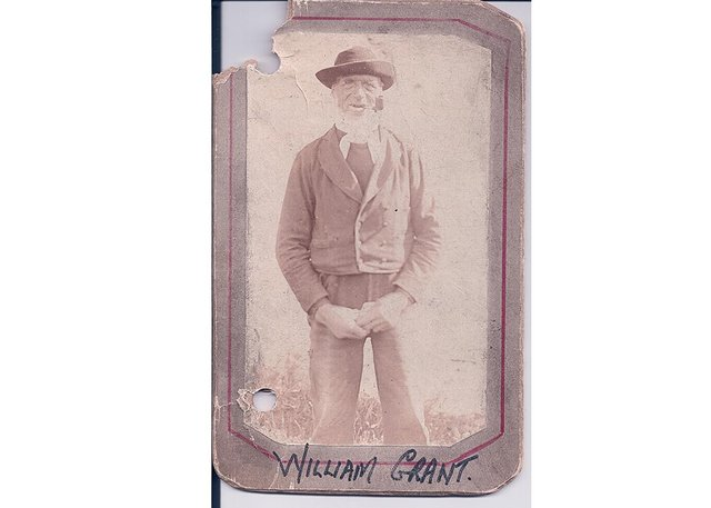 William Grant, the fisherman jailed for three months in 1845 after cutting a woman on the forehead and claiming she was a witch.  PIC: Tain and District Museum.