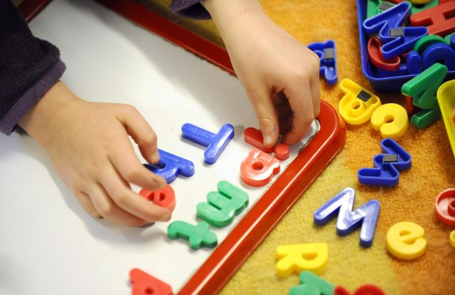 10,000 two-year olds are missing out on free childcare, Willie Rennie has said.