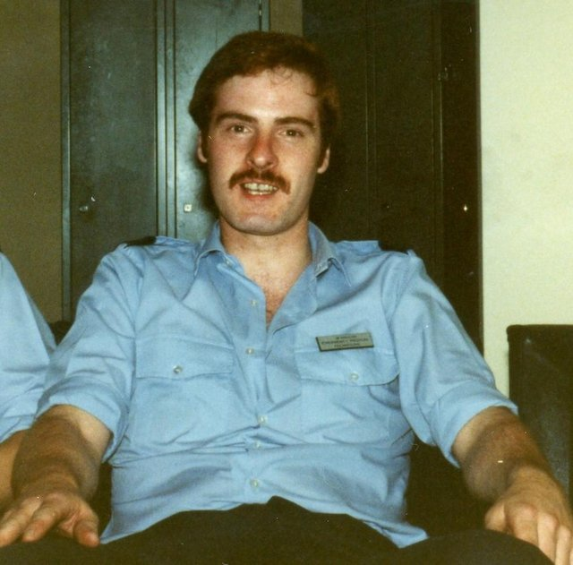 Bill Mason in his former days as a working paramedic. Picture: Scottish Ambulance Service