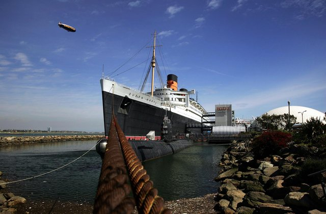 The RMS Queen Mary faces an uncertain future after its operator filed for bankruptcy amid allegations of outstanding urgent repairs to the historic Clyde-built ocean liner. Picture: David McNew/Getty