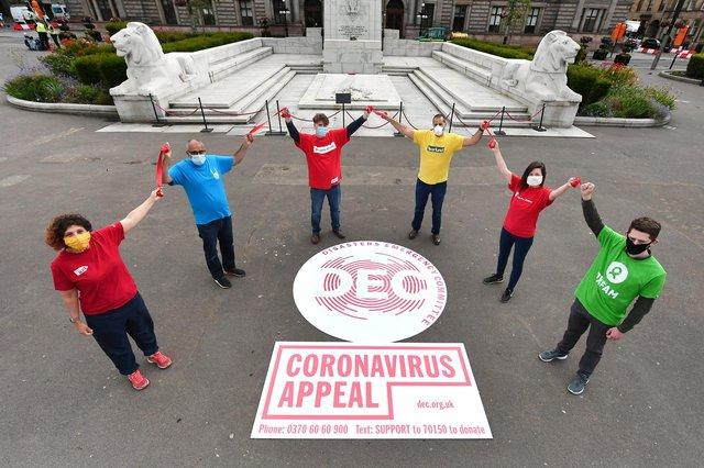 DEC Scotland launches its Coronavirus Appeal to help millions of people at risk from the coronavirus pandemic in refugee camps and countries scarred by conflict (Picture: John Devlin)