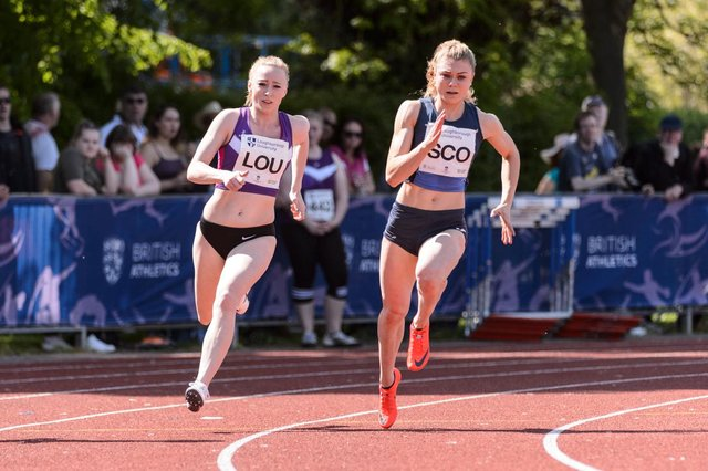 Beth Dobbin competing for Scotland at Loughborough International in 2018. Picture: Bobby Gavin