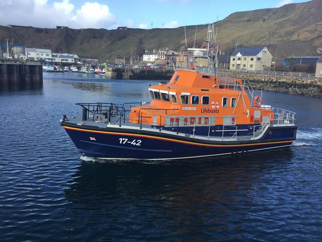 RNLI lifeboat The Taylors (Photo: Thurso Lifeboat).