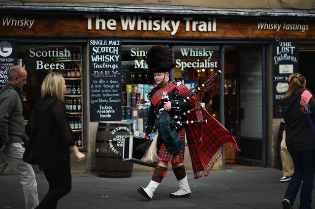 The introduction of a minimum unit price for alcohol is said to have improved Scotland's health (Picture: Jeff J Mitchell/Getty Images)